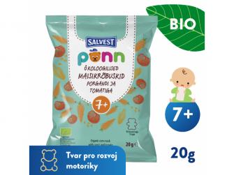 Ponn BIO Rajčatové křupky (20 g)
