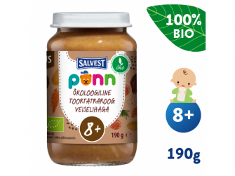 Ponn BIO Hovězí maso s pohankou a zeleninou (190 g)