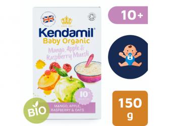 Kendamil BIO ovesná kaše s ovocem (mango, jablko, malina) 150 g