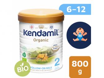 KENDAMIL BIO Nature pokračovací mléko 2 (800 g) DHA+ (77000192KEN)