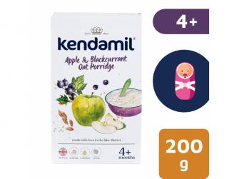 KENDAMIL Jemná dětská kaše s jablkem a černým rybízem (200g)