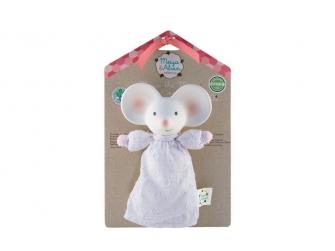 Pískátko / kousátko myška Meiya - 17cm výška