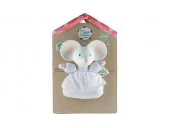 Chrastítko / kousátko myška Meiya - 15cm výška