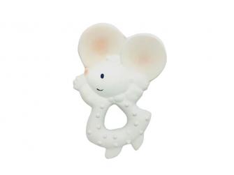 Kousátko myška Meiya (100% přírodní kaučuk)11cm