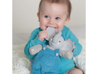 Dárkový set DELUXE knížka + hračka sloník Alvin 2