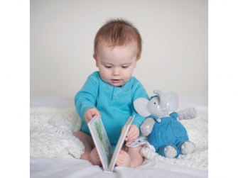Dárkový set DELUXE knížka + hračka sloník Alvin 3
