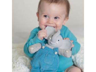 Dárkový set knížka + hračka sloník Alvin 2