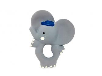 Kousátko slon Alvin (100% přírodní kaučuk) 11cm