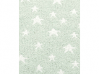 Pletená deka žinylka zelená 2