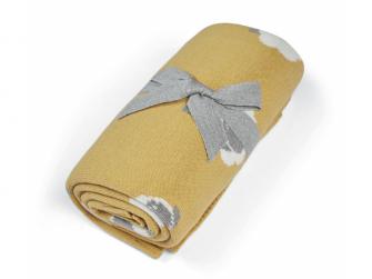 Pletená deka Ovečka