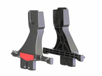 Adaptér na autosedačky Maxi Cosi/CabrioFix a BeSafe iZi Go, Kiddy Evolution Pro 2, Cybex Aton Q