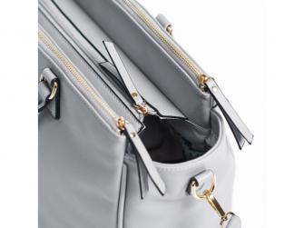 Přebalovací taška na kočárek CARLA, light grey 8