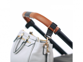 Přebalovací taška na kočárek CARLA, light grey 9