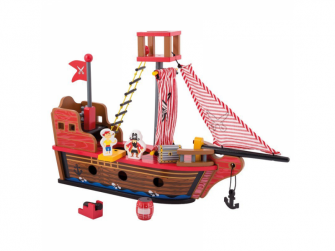 Dřevěná pirátská loď 36m+ 2