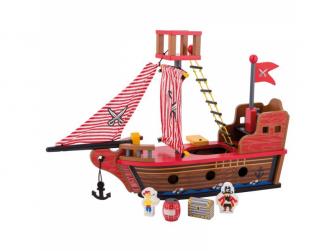 Dřevěná pirátská loď 36m+ 3
