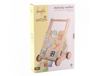 The Wildies Family dřevěné chodítko Activity Walker 18m+ 2