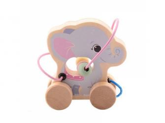 the Wildies Family dřevěná hračka s labyrintem Elephant 12m+