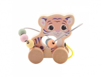 the Wildies Family dřevěná hračka s labyrintem Tiger 12m+