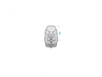 AxissFix Plus autosedačka Sparkling Grey 20