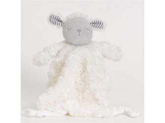 Hračka na mazlení ovečka s dečkou