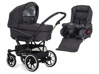 Set chassis Duo S 2020 black 17181 + 12103 black)