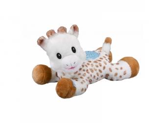 Plyšová žirafka Sophie hudebním a světelným projektorem