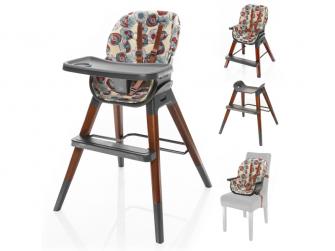 Dětská židlička Nuvio, Wild Flowers