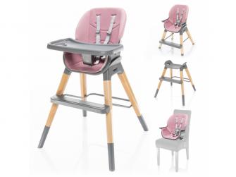 Dětská židlička Nuvio, Blush pink