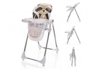 Dětská židlička Monti, Lively Racoon