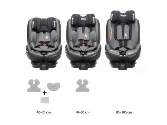 Autosedačka Protect i-Size, Grey 9