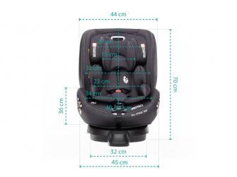 Autosedačka Protect i-Size, Black 15
