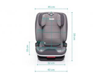 Autosedačka Scale i-Size, Grey 11