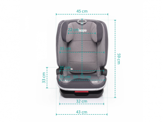 Autosedačka Scale i-Size, Red 11