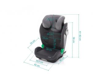 Autosedačka Integra i-Size, Jet Black 10