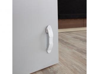 Obousměrná zarážka dveří 2ks, white 2