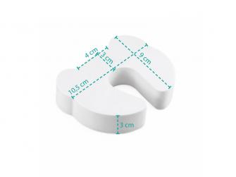 Ochrana proti skřípnutí, white 5