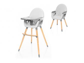 Dětská židlička Dolce 2, Dove Grey/Grey