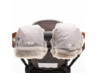 Zimní rukavice Fluffy, Foggy Grey 5