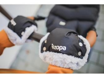 Zimní rukavice Fluffy, Night Black 2