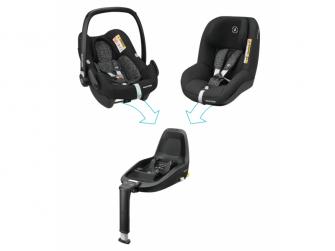 Pearl Smart i-Size autosedačka Black Grid 9