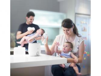 Ohřívačka pro 2 kojenecké lahve Warmy Twin 6