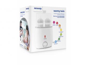Ohřívačka pro 2 kojenecké lahve Warmy Twin 8