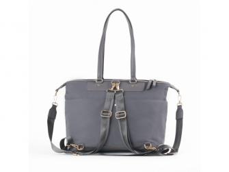 Přebalovací taška na kočárek a batoh 2v1 LUNA, grey 2