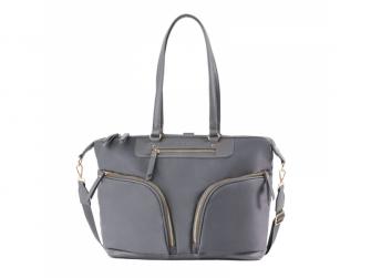 Přebalovací taška na kočárek a batoh 2v1 LUNA, grey