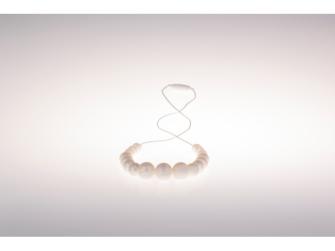 Kojící korále Annabel - perleťové
