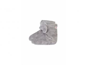 Bačkorky MAZLÍK Outlast® 1, šedá slon
