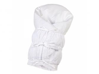 Zavinovačka šněrovací pevná záda ANGEL - Outlast® 77x77cm bílá,madeira