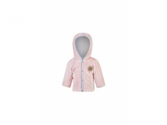Kabátek MAZLÍK Outlast® 80, pudrová stříbrný puntík