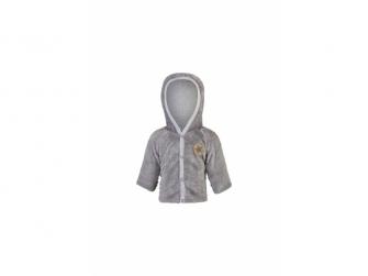 Kabátek MAZLÍK Outlast® 68, šedá slon
