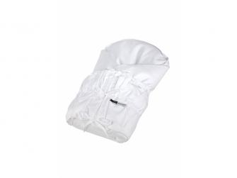 Povlak na zavinovačku šněrovací pevná záda Outlast® 77x77cm, bílá